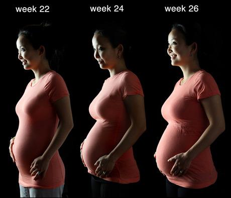 26 weeks pregnant. Tina at 26 weeks,