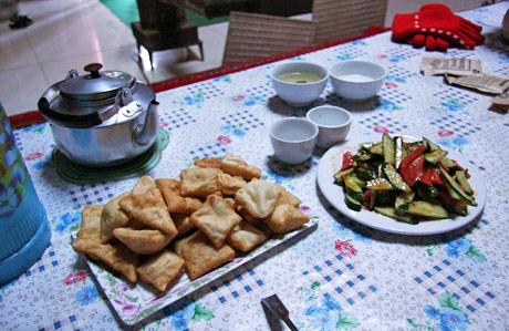 Tian Chi XinJiang Kazakh Yurt Meal Breakfast