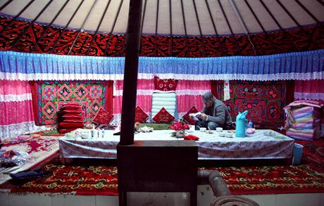 Tian Chi XinJiang Kazakh Yurt