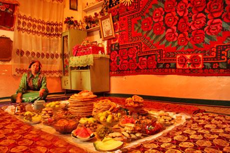Local Ugyer Home in Kashgar XinJiang, China