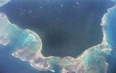 Andaman Islands from above