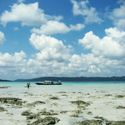 Beach on Havelock Island