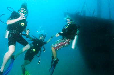 Scuba Diving in Havelock Island Andaman Islands India