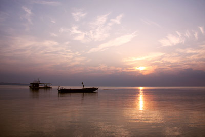 Sunrise at Havelock Andaman Islands India